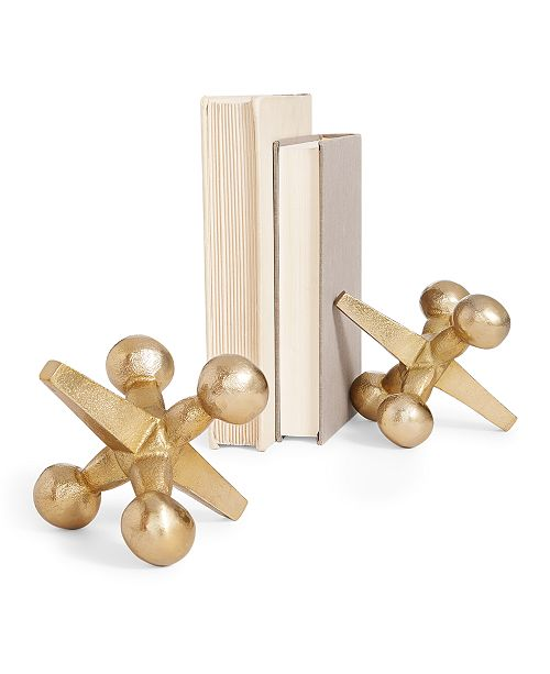 Home Essentials CLOSEOUT! Holiday Jacks Bookends, Set of 2