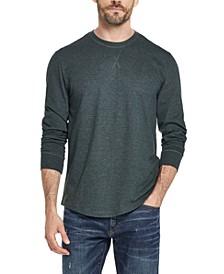 Men's Brushed Long-Sleeve Jersey T-Shirt