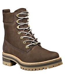 "Timberland Women's Courmayeur Valley 6"" Lace-Up Boots"