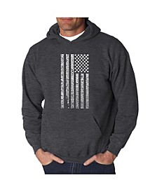Men's Word Art Hoodie - Anthem