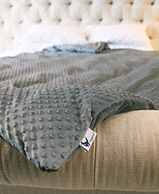 Plush and Extra Fluffy Weighted Blanket Set