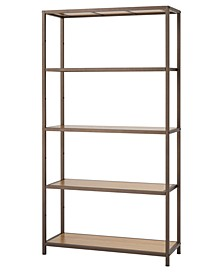 5-Tier Bamboo Shelving Rack