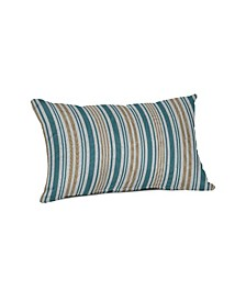 "Outdoor Lumbar Throw Pillow, 19"" x 12"""