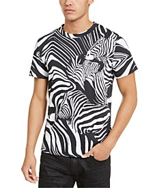 Men's Zebra Print T-Shirt