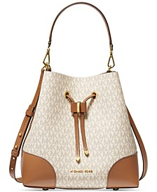 Mercer Gallery Convertible Bucket Leather Shoulder Bag