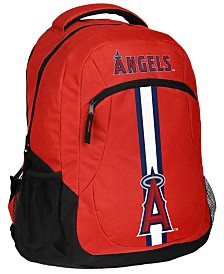 Forever Collectibles Los Angeles Angels Action Backpack