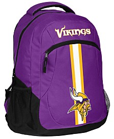 Forever Collectibles Minnesota Vikings Action Backpack