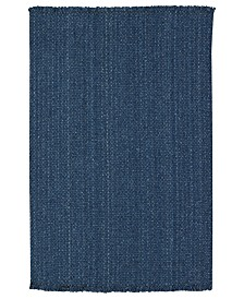 Capel Rugs, Hampton Flatweave 0404-400 Denim