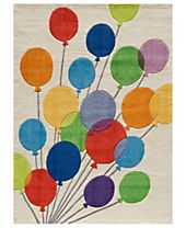 Momeni Rugs, Lil Mo Whimsy LMJ-16 Balloons Multi