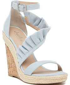 CHARLES by Charles David Brooke Wedge Sandals