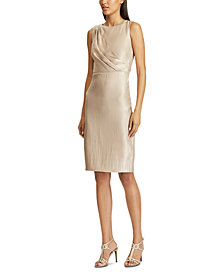 Lauren Ralph Lauren Metallic Cocktail Dress