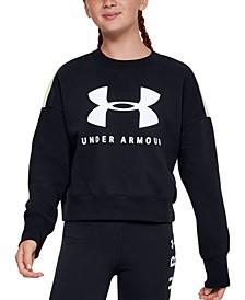 Big Girls Sportstyle Colorblocked Fleece Sweatshirt