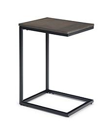 Thorpe C-Shaped Side Table