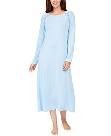 Embroidered Trim Nightgown, Created for Macy's