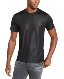 I.N.C. Men's ONYX Metallic T-Shirt, Created for Macy's