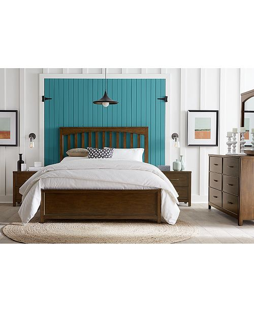 Furniture Ashford Cinnamon Bedroom Collection