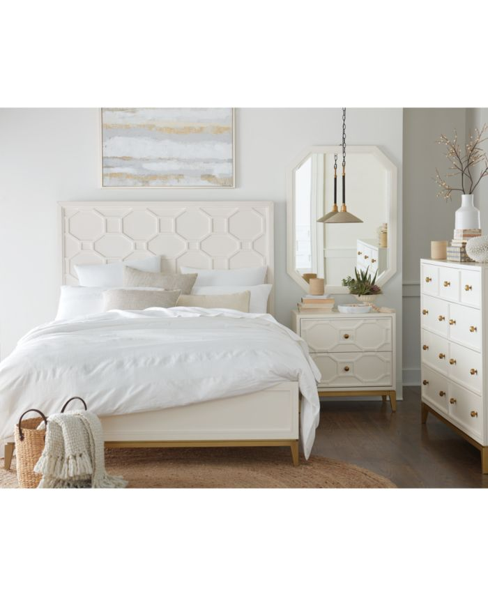 Furniture Rachael Ray Chelsea California King Bed  & Reviews - Furniture - Macy's