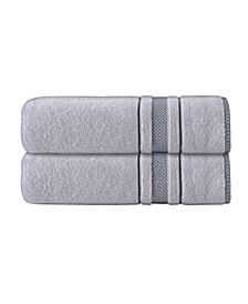 Enchante Home Turkish Cotton 2-Pc. Bath Sheets