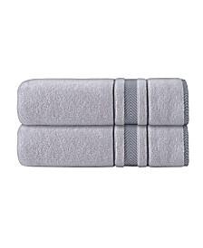 Enchante Home Enchasoft Turkish Cotton 2-Pc. Bath Sheets