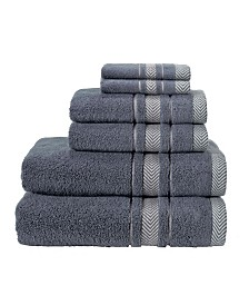 Enchante Home Enchasoft Turkish Cotton 6-Pc. Towel Set