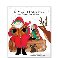 Vietri The Magic of Old St. Nick: The Adventure Begins Children Book