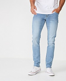 Men's Slim Fit Denim Jeans-DNU
