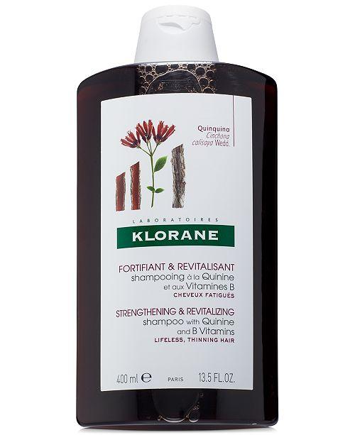 Klorane Shampoo With Quinine & B Vitamins, 13.5-oz.