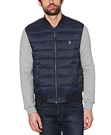 Men's Hybrid Knit Quilted Jacket