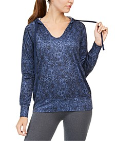 Python Printed V-Neck Hoodie, Created for Macy's