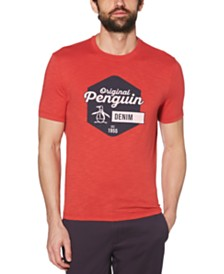Original Penguin Men's Slim-Fit Hexagon Pete Graphic T-Shirt