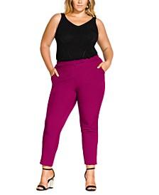 Trendy Plus Size Mrs. Draper Tailored Pants