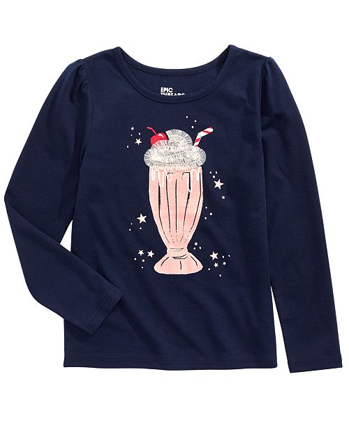 Epic Threads Little Girls Milkshake T-Shirt, Created for Macy's