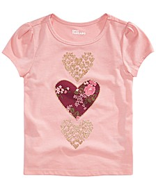 Toddler Girls Stacked Hearts T-Shirt, Created for Macy's