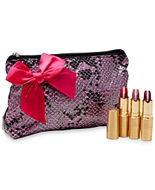 4-Pc. GrandeLIPSTICK Plumping Lipstick Set