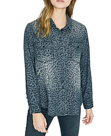 Forever Boyfriend Animal-Print Shirt