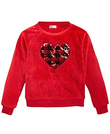 Big Girls Heart Sweatshirt, Created For Macy's