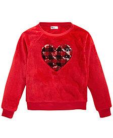Epic Threads Big Girls Heart Sweatshirt, Created For Macy's