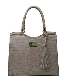 Bebe Natalie Croco Shopper