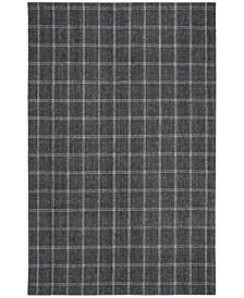 Tamworth Check LRL6450A Charcoal 4' X 6' Area Rug