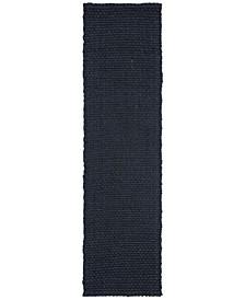 "Nigel LRL7400A Navy 2'3"" X 8' Runner Area Rug"