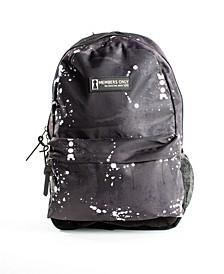 Splatter Print Backpack