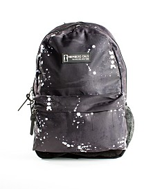 Members Only Splatter Print Backpack