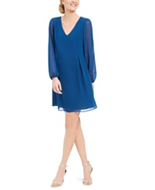 I.N.C. Bow-Back Shift Dress, Created for Macy's