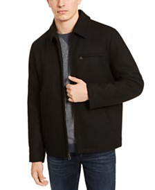 Calvin Klein Men's F18 Open Bottom Jacket