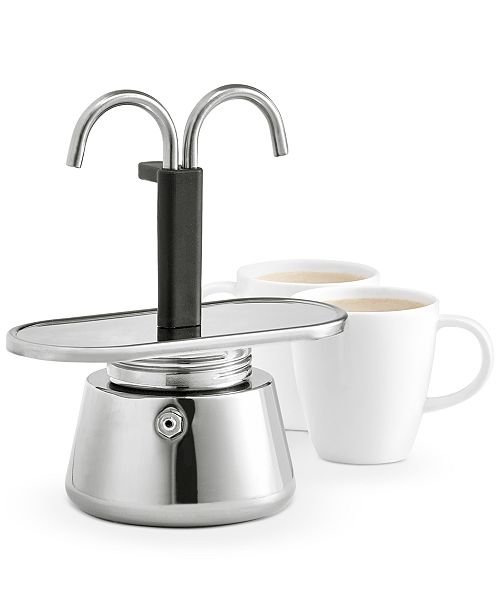Hotel Collection Duo Stovetop Espresso Maker, Created For Macy's