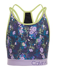 Big Girls Floral-Print Sports Top