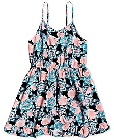 Big Girls Floral-Print Dress