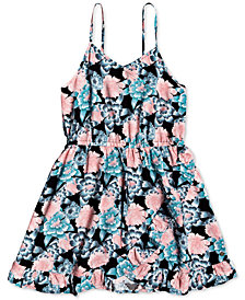 Roxy Big Girls Floral-Print Dress