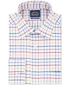 Eagle Men's Big & Tall Stretch-Collar Check Dress Shirt