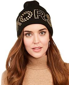 Studded KORS Cuff Hat